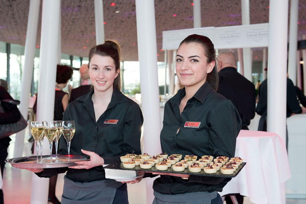 Kursaal Bern Eventlocation mieten Essen&Trinken Servicefachangestellte