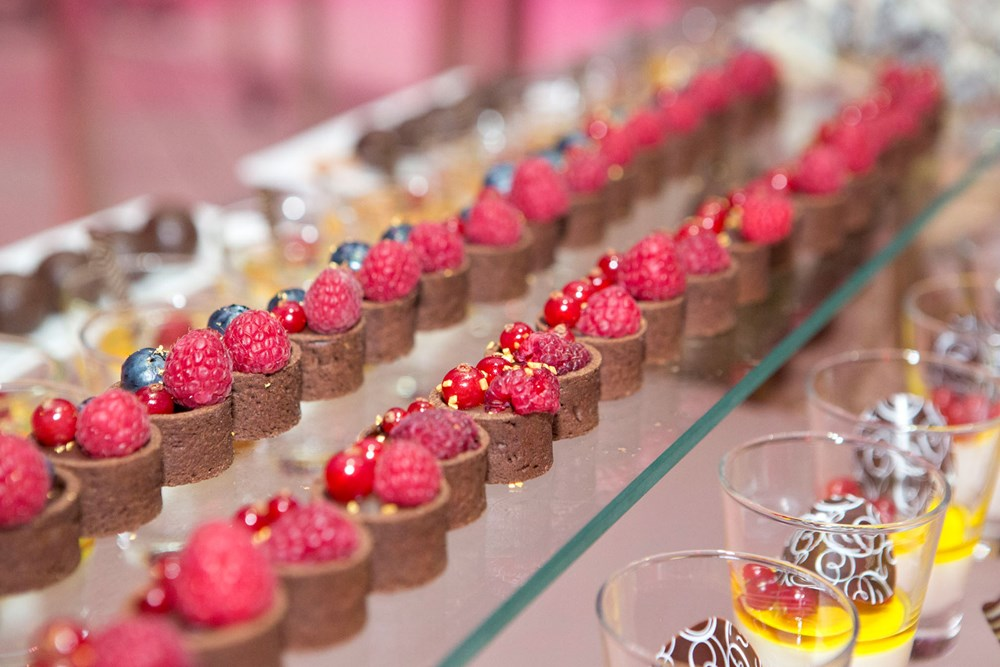 Kursaal Bern Eventlocation mieten Essen&Trinken Dessertbuffet